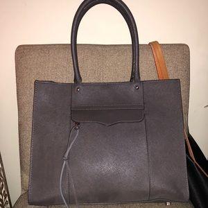 Brand new gray/silver Rebecca Minkoff medium tote